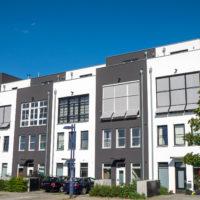 New terraced housing seen in Berlin